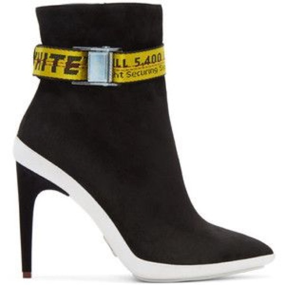 Shoes | Offwhite Ankle Boots | Poshmark